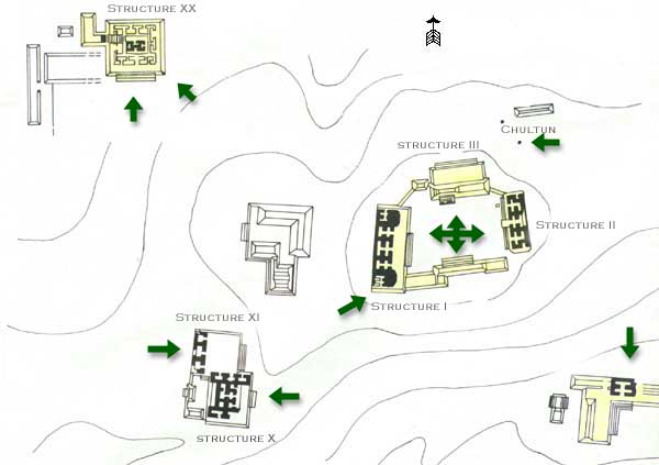 Chicanna Site Map