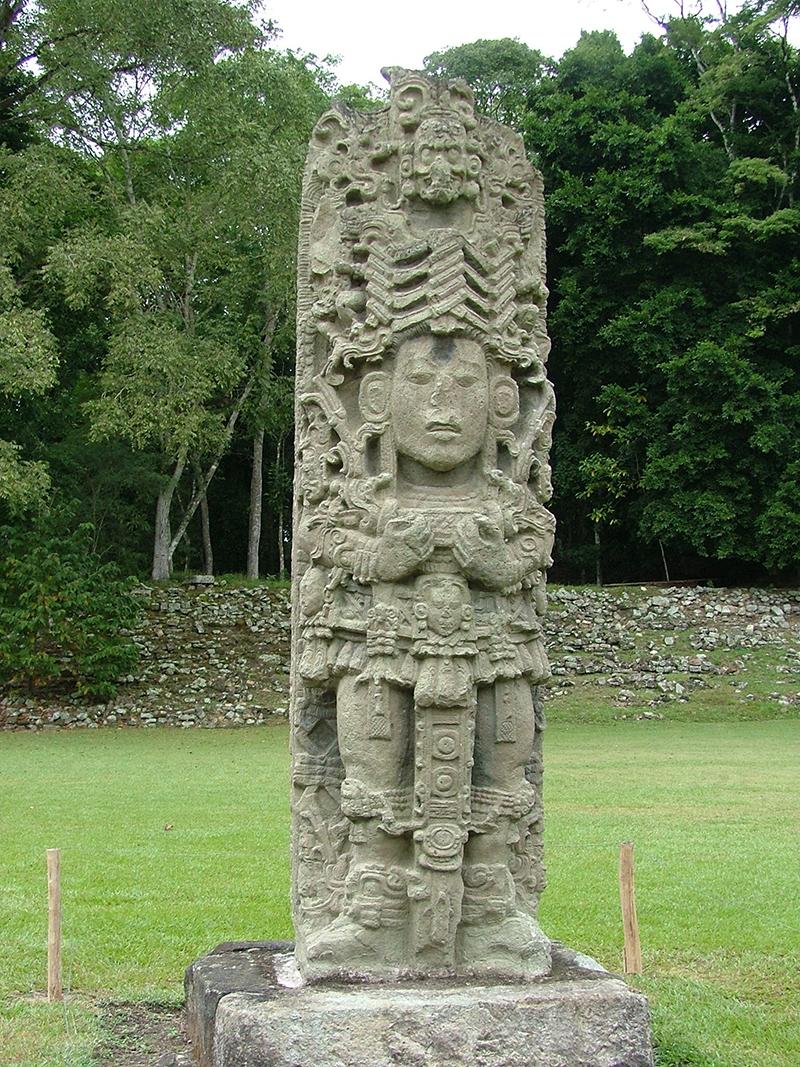 Copan Stela A A1 1086